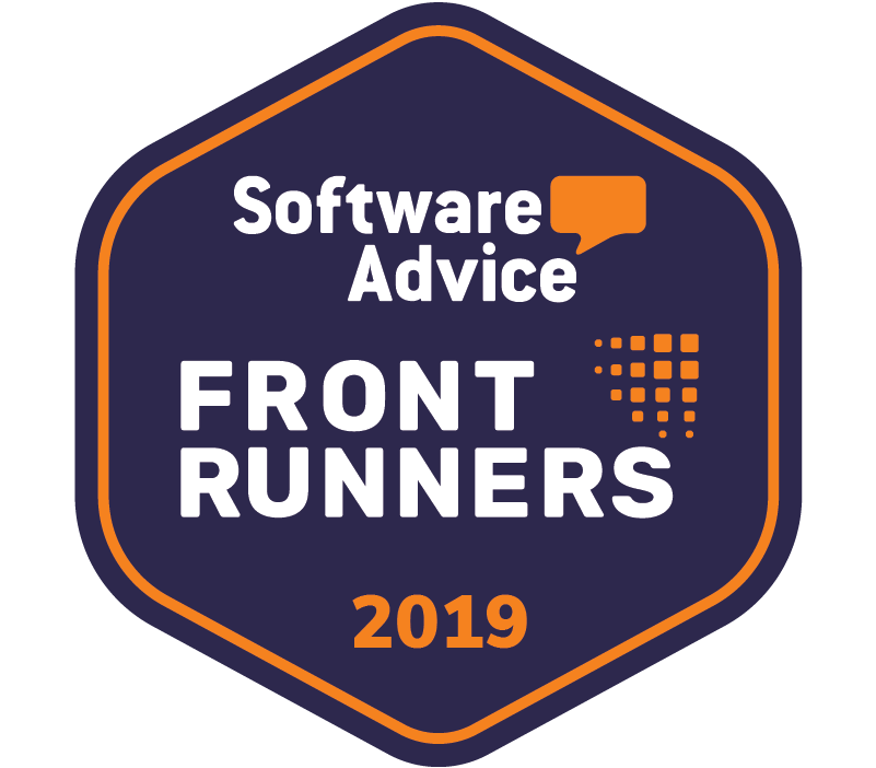 Software Advice Front Runners Award 2019